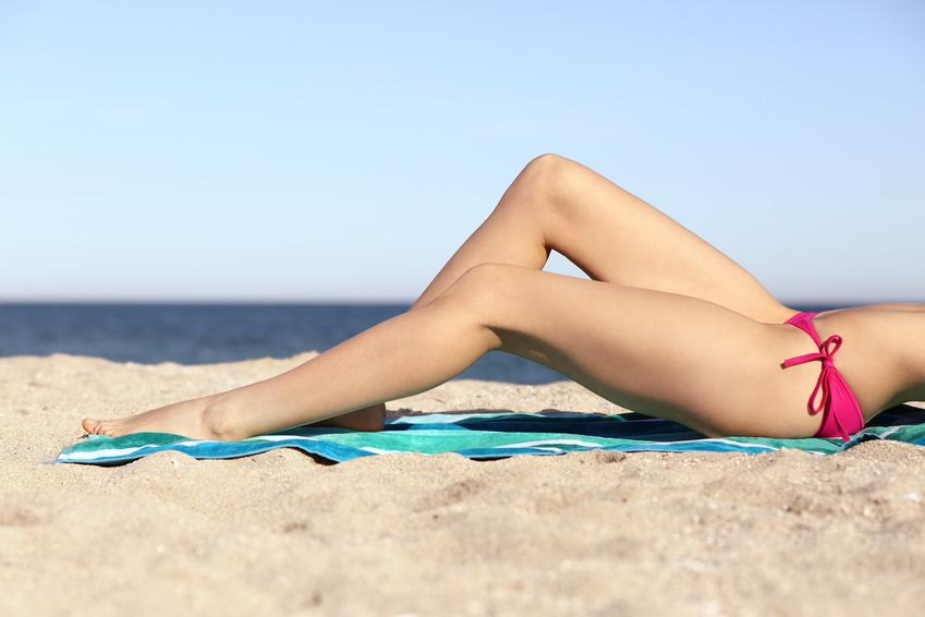 Leg and Bikini Area Hair Removal